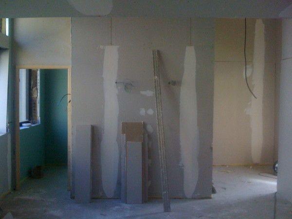 plaque de platre salle de bain. Black Bedroom Furniture Sets. Home Design Ideas